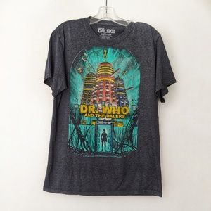 Dr. Who and the Daleks T-Shirt Vintage Looking